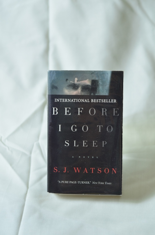 Before I Go To Sleep – S. J. Watson
