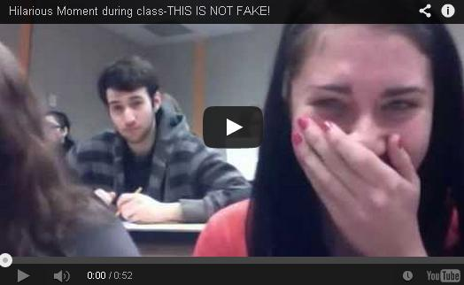 Hilarious Moment During Class