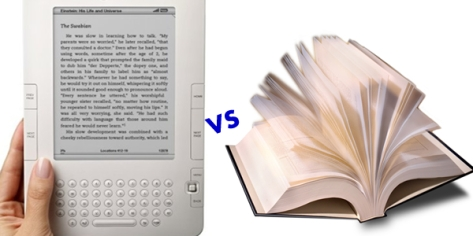e-Books VS Books