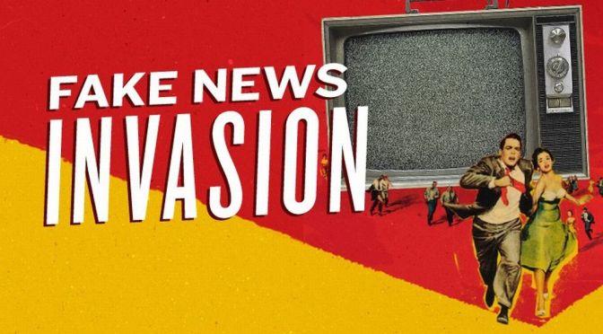Reading. Fake news. And Donald Trump.