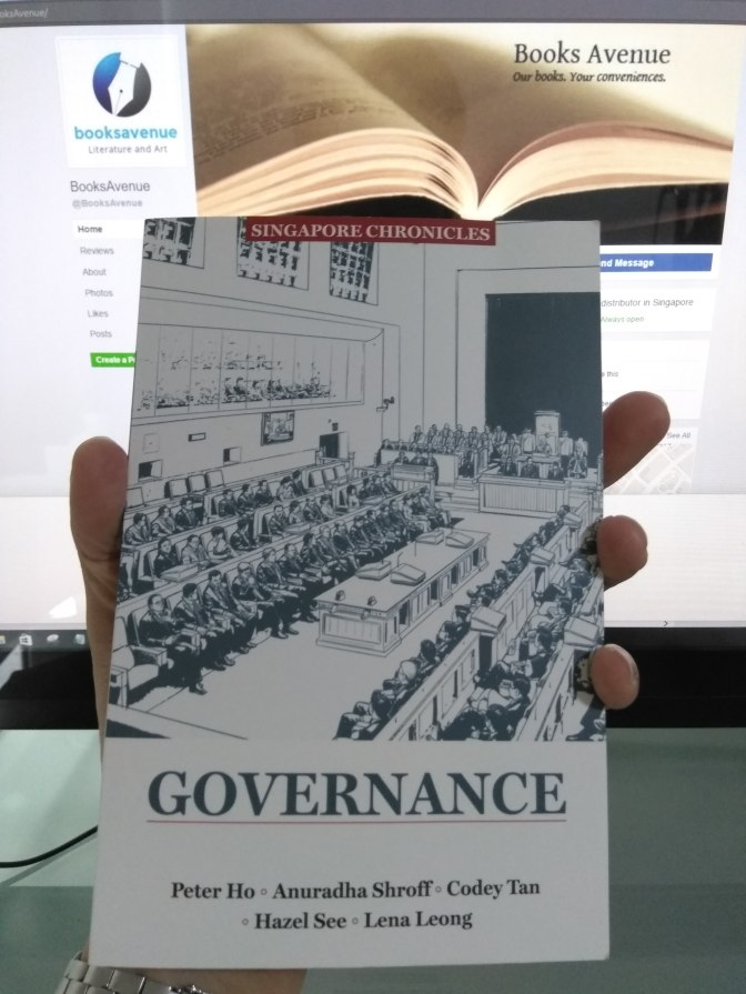 SINGAPORE CHRONICLES: GOVERNANCE