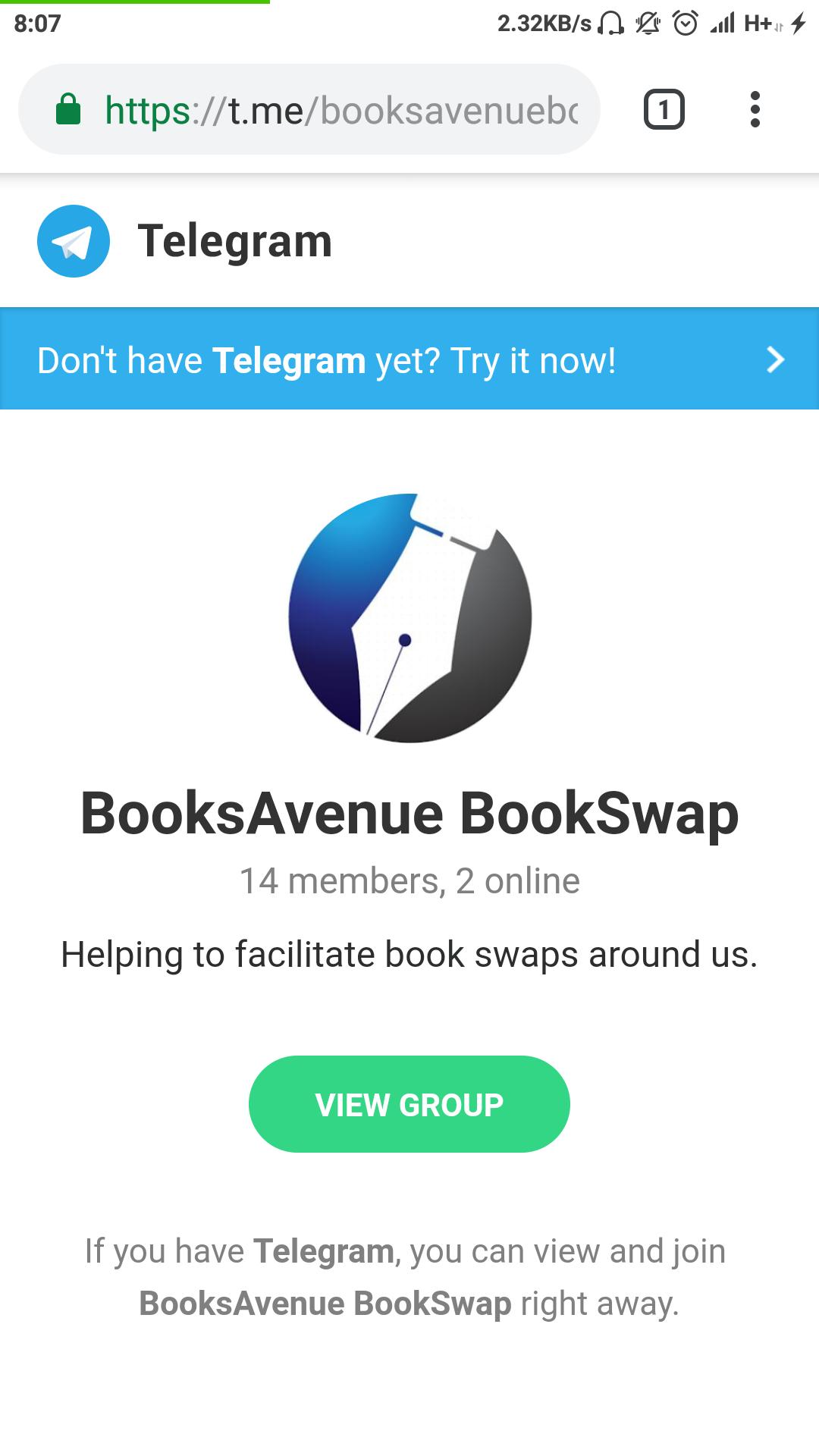 Online Telegram Group