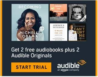 Amazon Audible: Enjoy 2 FREE downloads