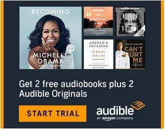 Amazon Audible: Enjoy 2 FREE downloads